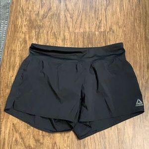 Black Reebok workout shorts size small